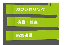カウンセリング・検査・診査/応急処置